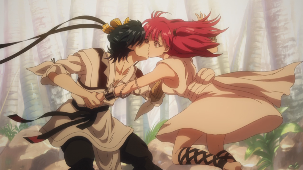 magi alibaba and morgiana kiss - photo #35