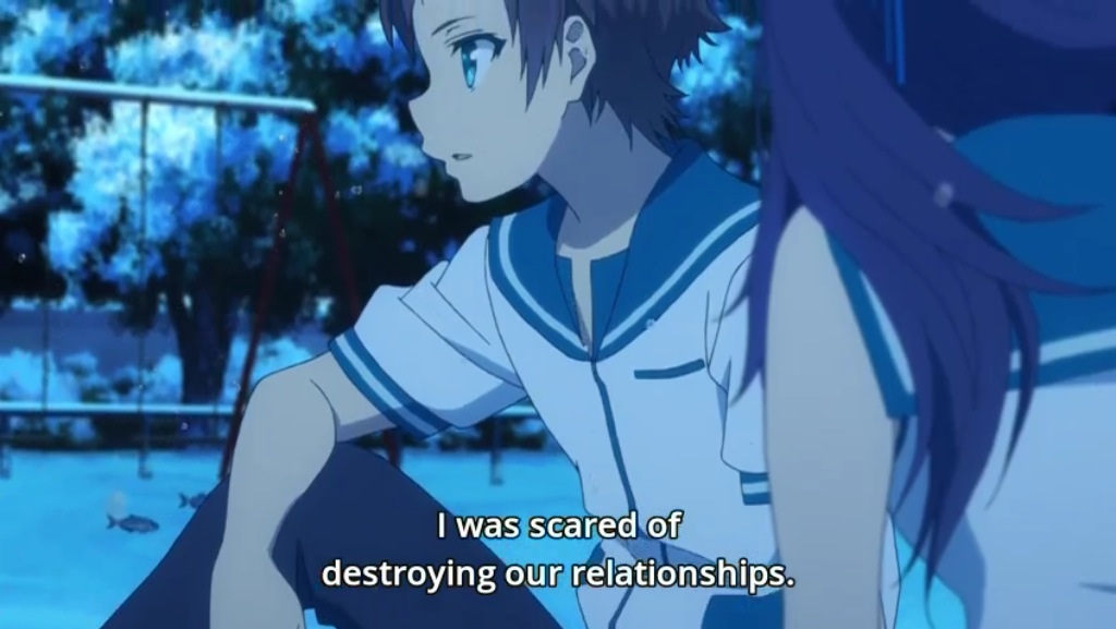Chisaki As Well Didnt Freak Out When She Confessed Her Feelings Because Of This Gets A One Up In My Book