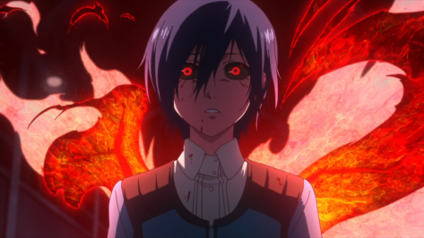 Have to admit...Touka is beautiful