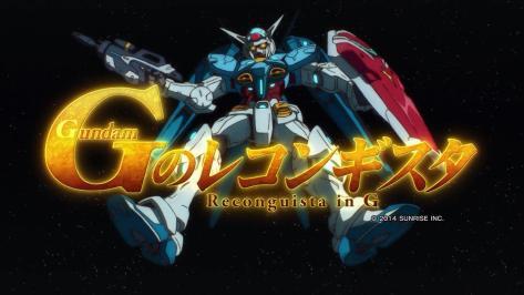 Gundam Reconguista in G - OP - Large 01